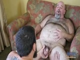 Un polvazo tremendo con papá