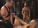Brutal orgía gay sadomasoquista - Sumisos