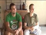 Dos jóvenes graban su primer vídeo porno - Amateur