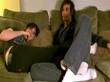 Dos jóvenes heteros y amateurs - Afeminados
