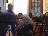 Pillados: El hijo se la mama al padre - Amateur