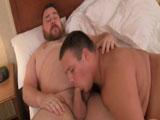Dos gordos echando un buen polvo - Osos