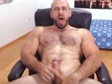 Gay velludo haciéndose un buen pajote delante de la webcam - Chicos Solos