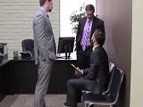 Vaya trío que se montan en estas oficinas, vaya follada! - Trios