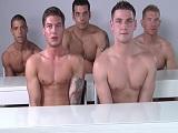 Modelos fitness haciendo una orgía, como se lo pasan..
