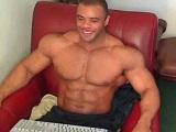 Mario Borelli por la webcam porno